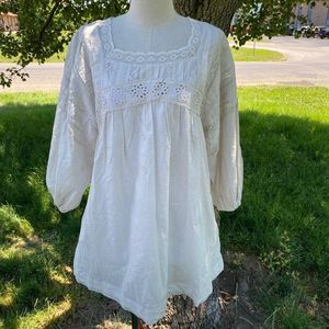 Free people mineral peasant style blouse